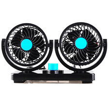 NEW 12V Auto Car Electric Fan Low Noise Summer Air Conditioner Air Cooling Fans
