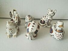 More details for japanese imari paperweight animals bundle  - unboxed - very good condition