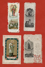 santini merlettati-holy cards lace-canivets-spitzebildichen LOTTO N.239