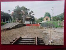 PHOTO  CORFE CASTLE RAILWAY STATION UNDER RESTORATION 1990