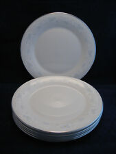 Royal Doulton (6) 1976 Bedford Fine China 10.5in Dinner Plates Blue Ylw White