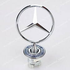 NEW Chrome Front Hood Ornament Emblem for Mercedes Benz 300E C E S W Series