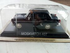 DIE CAST MOSKVITCH 407 1/43 DeAgostini 1:43 legendary cars