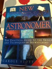 """New Astronomer"" DK book by Carole Stott includes Planisphere"