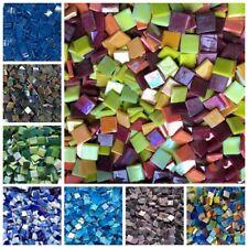 Real espejo de cristal Azulejos de mosaico 1/x 1/cm 1x1cm Juego de 200pcs peque/ño cristal redondo manualidades
