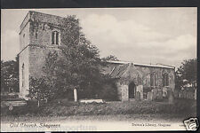 Lincolnshire Postcard - Old Church, Skegness  RS1381