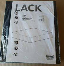 """Ikea Lack Wall Shelf Floating Conceal Mounting 11 3/4 X 10 1/4 """" **New**Sealed"""
