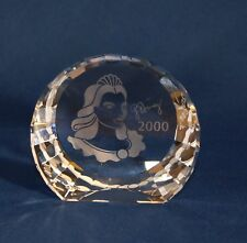 Swarovski Crystal Scs 2000 Columbine Signed Paperweight 60 mm Retired New $60