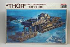 1/72 THOR 60CM GERMAN RAIL MORTAR Kit NEW Sealed Bags FREE SHIP