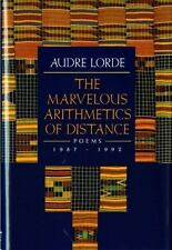 The Marvelous Arithmetic of Distance by Audre Geraldine Lorde (1993, Hardcover)