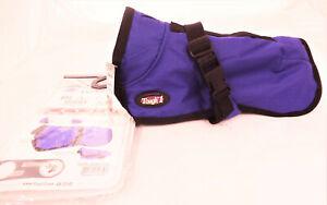 New Waterproof Dog Blanket 600D Purple Winter Coat Jacket Tough1 Clothes Deluxe