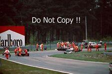 Gilles Villeneuve Ferrari Accident Belgian Grand Prix 1982 Photograph 2