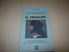 NICCOLò MACHIAVELLI:IL PRINCIPE.BUR CLASSICI L37 NUOVO!NICCOLO'MACCHIAVELLI+NOTE