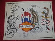 1987 Spaulding & Rogers Flash Art Harley/Creatures Page 883