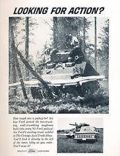 1963 Ford Truck and Tank - Original Car Advertisement Print Ad J117