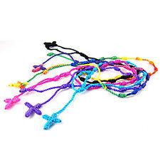 12 New Handmade Rosary Bracelet, Pulseras Decenarios in USA, Free Shipping