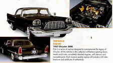 1957 Chrysler 300C Precision Series Black 1:18 Ertl American Muscle 32503