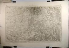Gravure carte d'état major de Bar-le-Duc, 1838