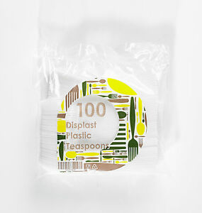 2000 x White Plastic Teaspoons (disposable) - Cheapest on Ebay [5055202157040]