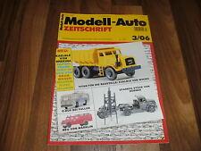 MODELL-AUTO 3/06 -- Scania LB 141 Kipplastzug/Magirus Rundhauber DL 25/Culemeyer
