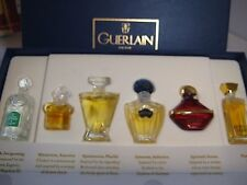 1990s Vintage **PARFUM** New Mitsouko Samsara Guerlain 6 Mini Perfume Gift Set