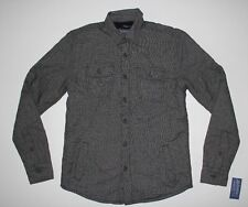 New American Rag Black Shadow Mens Size Small Lined Shirt Jacket