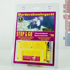 Stop&Go Batterie Marderabwehrgerät 07533 Ultraschall 4B Marderschutz 2xPiezo