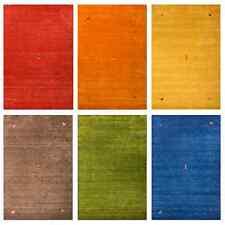 Morgenland Gabbeh SAHARA Teppich Einfarbig Tiermotive Handgearbeitet - 6 Farben