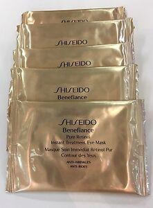 5 Shiseido Benefiance Pure Retinol Instant Treatment Eye Masks