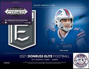 Buffalo Bills 2021 Football Mixer Break Elite and Prizm Draft H2