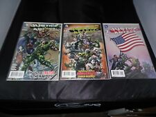 Justice League of America New 52 #1 #2 and #3  Sharp Books!