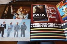 MADONNA - Plan média / Press kit !!! EVITA ET AUTRES K7 !!!
