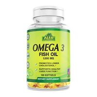 Omega 3 1000 Mg 100 Softgels. Fish Oil. Epa. Dha. Essential Fatty Acids