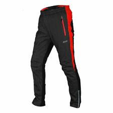 Men's Winter Warm Thermal Fleece Cycling Windproof Long Pants MTB Bicycle Pant