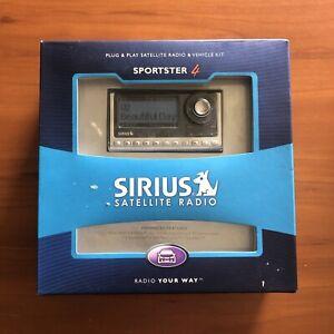 Sirius Sportster SP4-Sirius Car Satellite Radio and Vehicle Kit - NEW