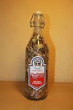 MAMAJUANA BIG 1-LITER MEDICINAL APHRODISIAC HERBS DON RAMON GLASS BOTTLE