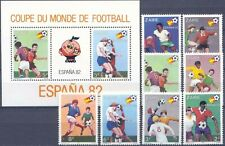 Zaire 1982 ☀ Fifa Football World Cup Espana 1982 Complete set + MSS ☀ MNH**