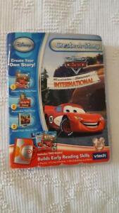 VTECH CREATE-A-STORY DISNEY PIXAR CARS,RADIATOR SPRINGS INTERNATIONAL,READING,5+