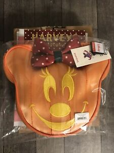 HARVEYS Convertible Crossbody Disney / Pumpkin Minnie Bag In Hand! Ships TODAY!