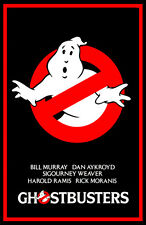 Ghostbusters Movie Poster, Classic 1980's Comedy