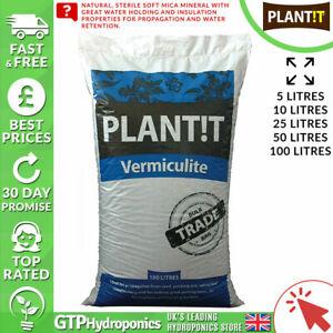 Plant!t - Vermiculite - 5L / 10L / 25L / 50L / 100L - Hydroponics