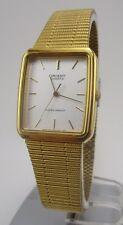 Vintage Orient Unisex Quartz Dress Watch Excellent Condition New Battery Nice!
