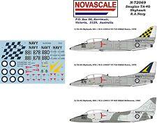 RAN TA-4G Skyhawk Decals 1/72 Scale N72069