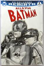 All Star Batman #1 Sketch Cover 1966 BATMAN & ROBIN Watercolor Art John Watson