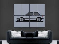 vw golf mk2 volkswagen auto riesig groß wandbild poster bild