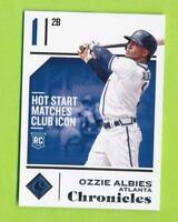 2018 Panini Chronicles - Ozzie Albies (#41)  Atlanta Braves