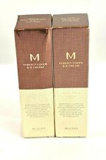 2 Pack Missha M Perfect Cover BB Foundation 21 Light Beige Korea Beauty Cosmetic