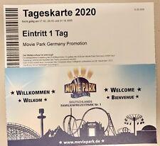 2 x Moviepark Tageskarten freier Eintritt keine Zuzahlung Gültig 2020