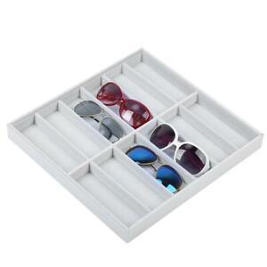 12 Grid Sunglasses Glasses Retail Shop Storage Box Stand Case Tray Organizer HOT
