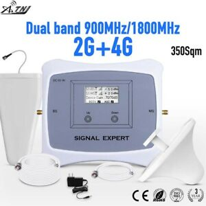 LTE 4G GSM 2G 900/1800MHz Dual Band Signal Booster Cell Phone Repeater amplifier